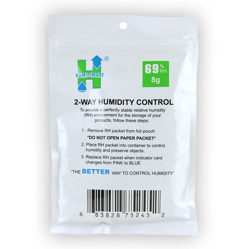 Humi-Smart 69% 8g Packet (10 Pack) (683828752452)