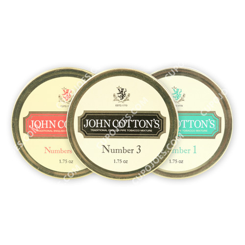 John Cotton's 3 Tin English Sampler (997100303050)