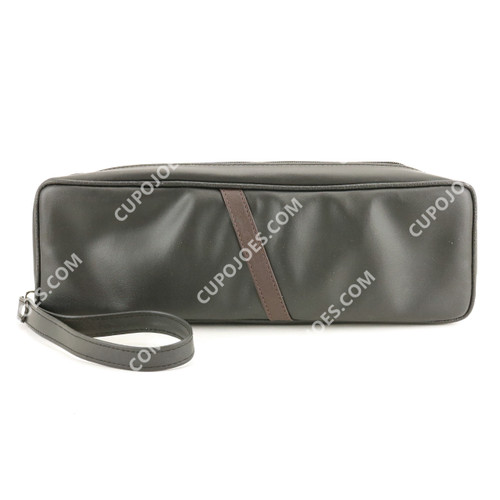 Castleford Churchwarden Leather 2 Pipe Case (cstcw2pc)