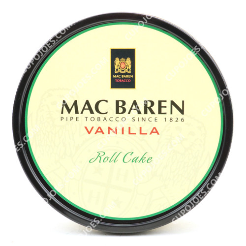 Mac Baren Vanilla Roll Cake 3.5 Oz Tin (997130221035)