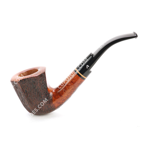 Ascorti Striata Bent Dublin Pipe #2951