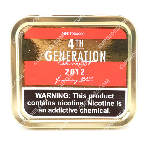 4th Generation 2012 Virginia Flake 3.5 Oz Tin (Copy of 751667174824)