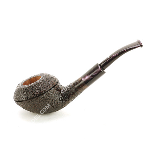 Caminetto Rustic Bent Rhodesian Pipe 08-38 (camrbr0838)