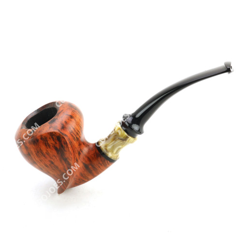 Mustran Smooth Freehand Acorn Pipe (dmu10)