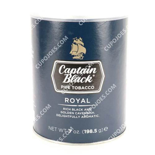 Captain Black Royal, 7 Oz Can (761073427933)