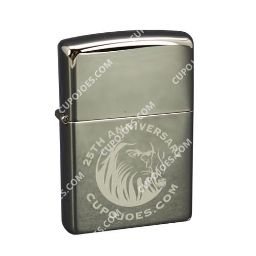 Cup O' Joes 25th Anniversary Zippo Pipe Lighter Black Ice (zpcoj25blk)