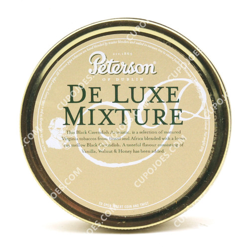 Peterson De Luxe Mixture 50g Tin