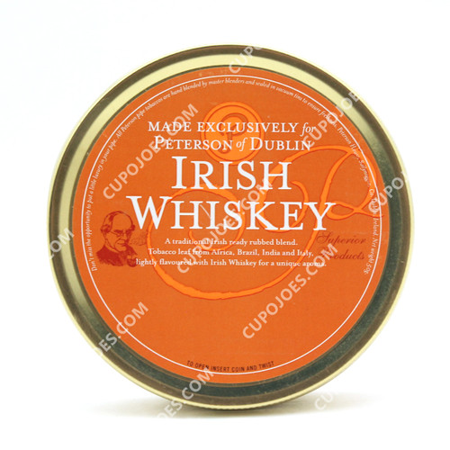 Peterson Irish Whiskey 50g Tin