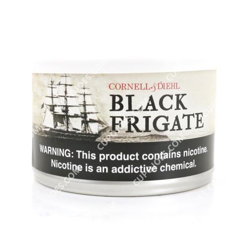 Cornell & Diehl Black Frigate 2 Oz Tin