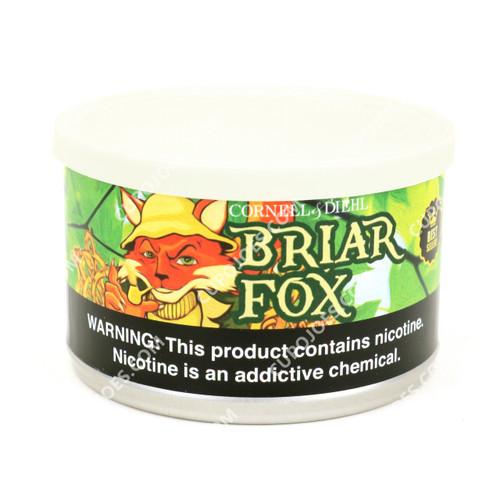 Cornell & Diehl Briar Fox 2 Oz Tin