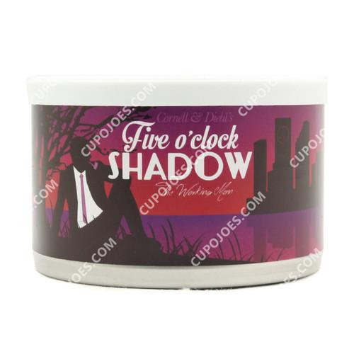 Cornell & Diehl Five O'Clock Shadow 2 Oz Tin