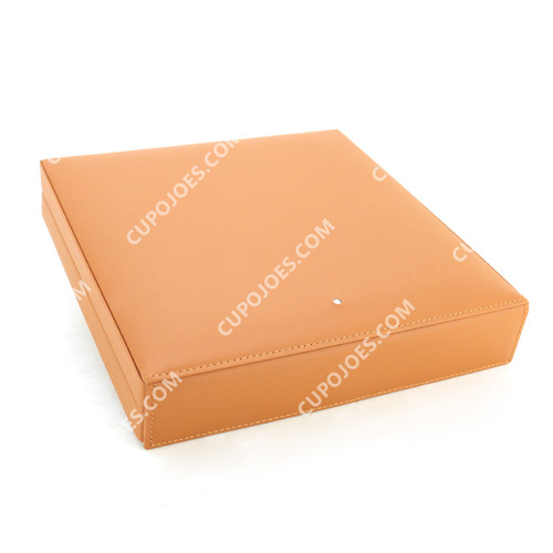 Dunhill Terracotta Leather Travel Humidor #HS2010 (dunhs2010)