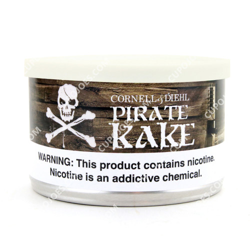 Cornell & Diehl Pirate Kake 2 Oz Tin