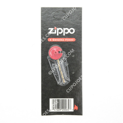 Zippo Brand Lighter Flints 6pk