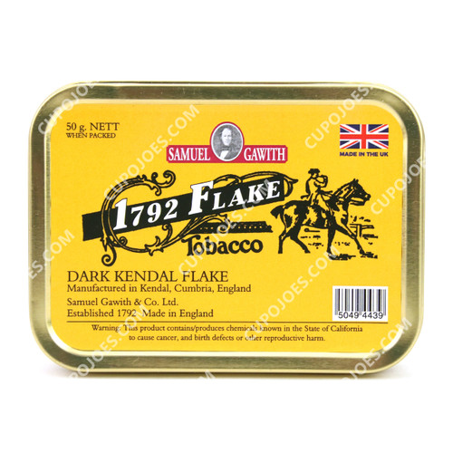 Samuel Gawith 1792 Virginia Flake 50g Tin