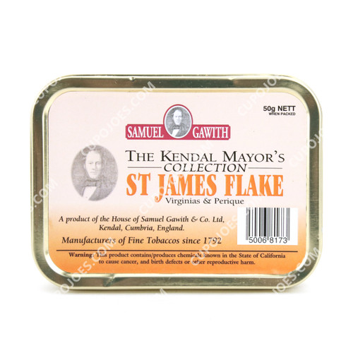 Samuel Gawith St. James Flake 50g Tin