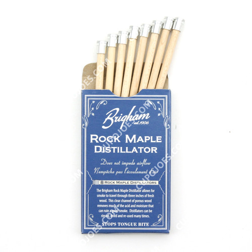 Brigham Rock Maple Distillator Pipe Filters 8 Pk