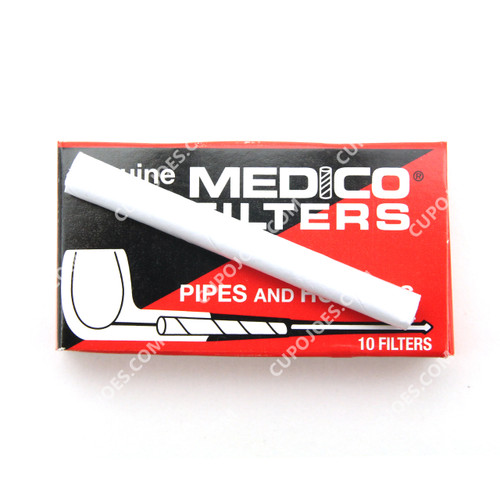 Medico Regular Pipe Filters Single Pack of 10