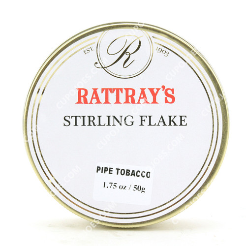 Rattray's Stirling Flake 50g Tin