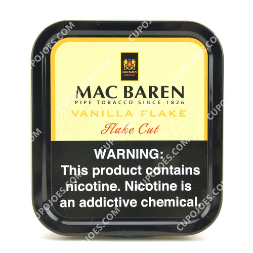 Mac Baren Vanilla Cream Loose Cut 3.5 Oz Tin