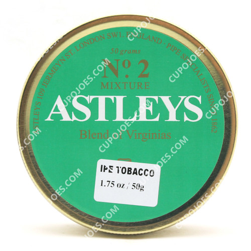 Astleys No. 2 Blend of Virginias 50g Tin