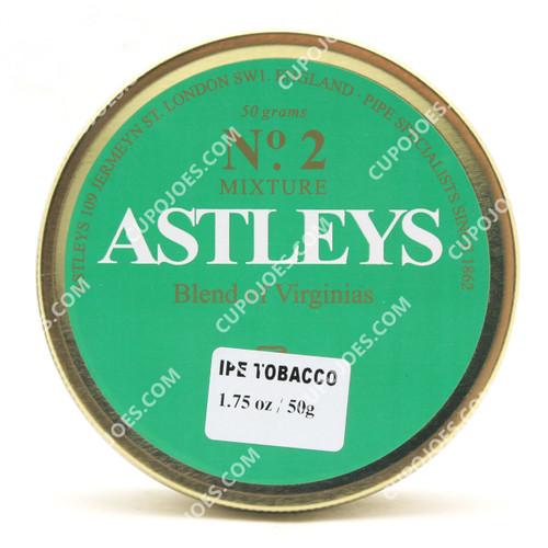 Astleys No. 2 Blend of Virginias 50g Tin