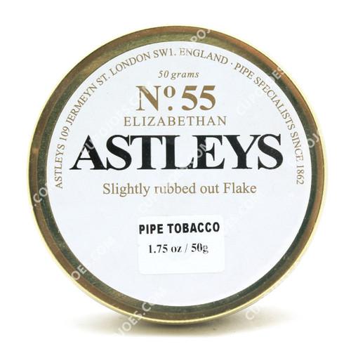 Astleys No. 55 Elizabethan Flake 50g Tin