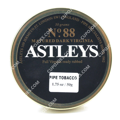 Astleys No. 88 Matured Dark Virginia 50g Tin
