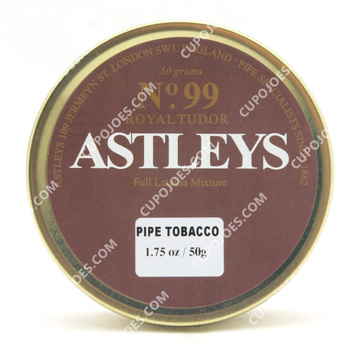 Astleys No. 99 Royal Tudor Full Latakia 50g Tin