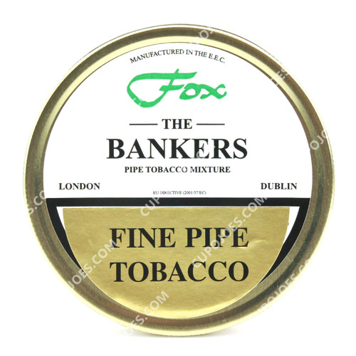 Fox The Bankers Medium Blend 50g Tin