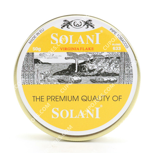 Solani Blend Yellow 633 Virginia Flake 50g Tin