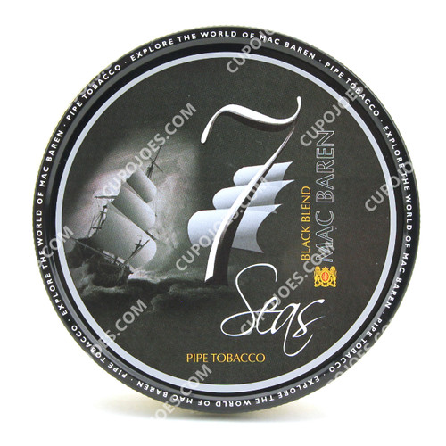 Mac Baren 7 Seas Black Blend 3.5 Oz Tin