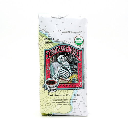 Raven's Brew Coffee Deadman's Reach Organic 12 Oz.