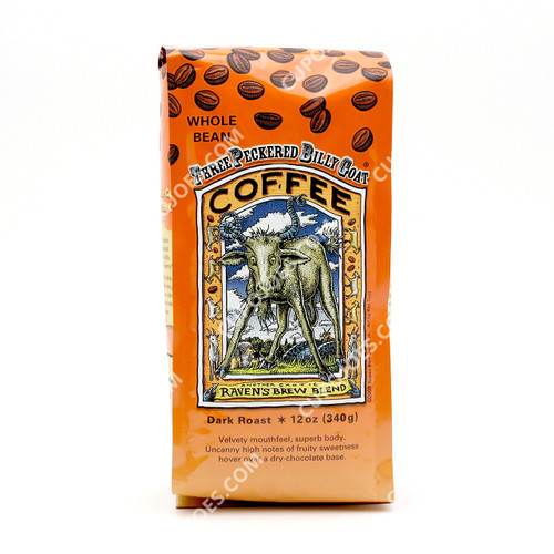 Raven's Brew Coffee Three Peckered Billy Goat 12 Oz.