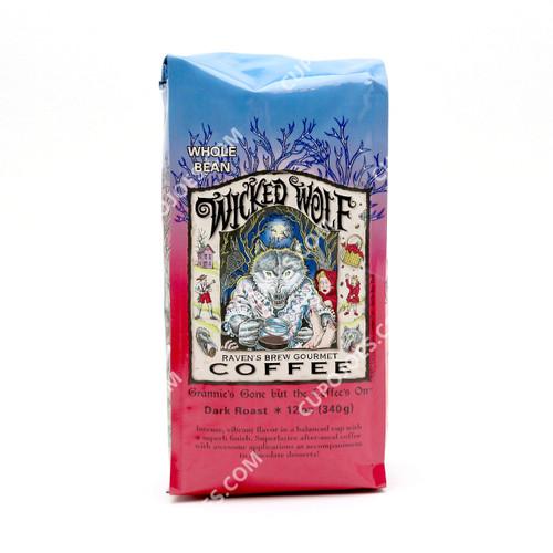 Raven's Brew Coffee Wicked Wolf 12 Oz.