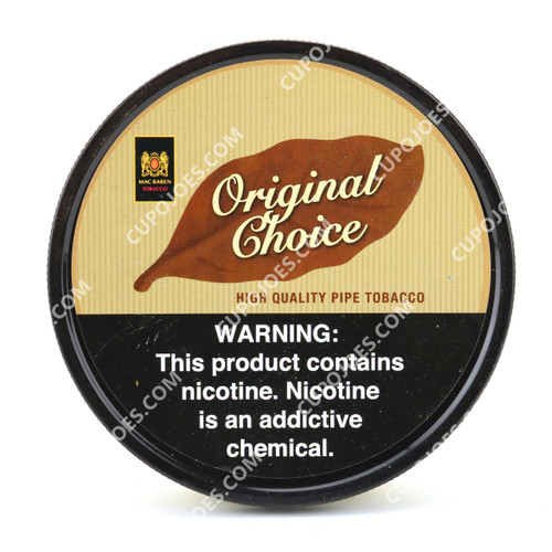 Mac Baren Original Choice 3.5 Oz Tin