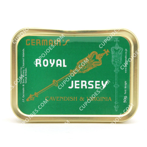 Germain's Royal Jersey Cavendish & Virginia 50g Tin **Limit One Per Customer**