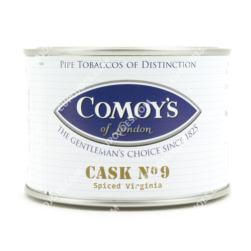 Comoy's Cask No. 9 Spiced Virginia 3.5 Oz Tin