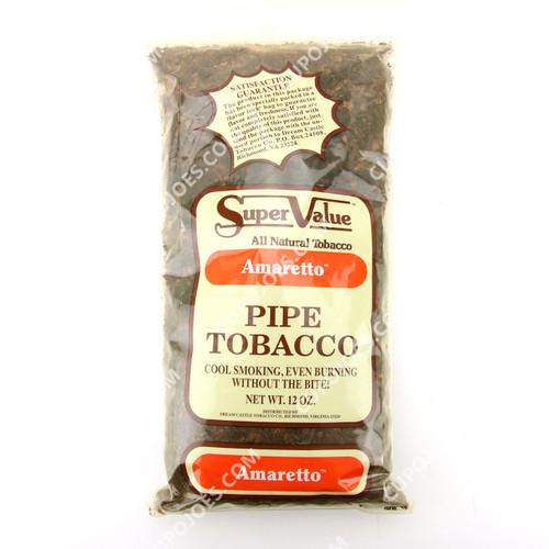 Super Value Amaretto Pipe Tobacco 12 Oz Bag
