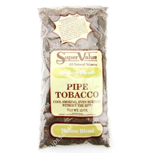 Super Value Mellow Blend Pipe Tobacco 12 Oz Bag