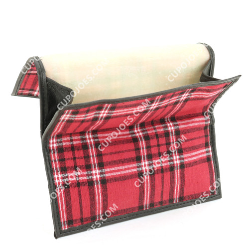 Castleford Plaid Roll Up Pouch (cstpa29498)