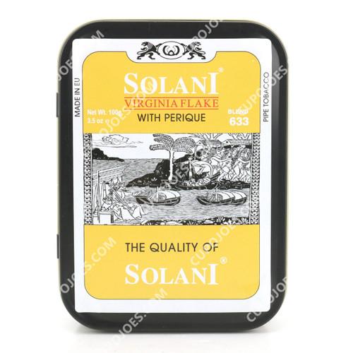 Solani Blend Yellow 633 Virginia Flake 100g Tin