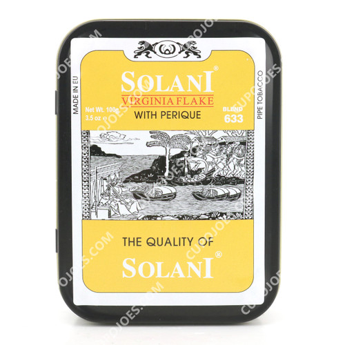 Solani Blend Yellow 633 Virginia Flake 100g Tin