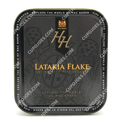 Mac Baren HH Latakia Flake 3.5 Oz Tin