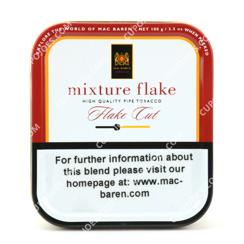 Mac Baren Scottish Mixture Flake 3.5 Oz Tin