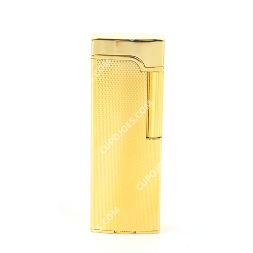 Corona Elysee Pipe Lighter Gold Diamond Cut #705201