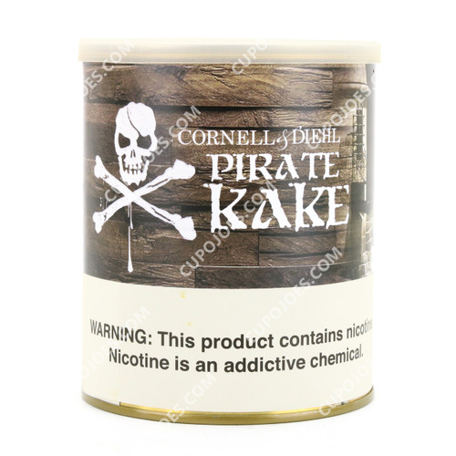 Cornell & Diehl Pirate Kake 8 Oz Can