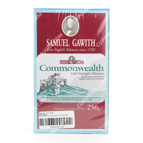 Samuel Gawith Commonwealth 250g Box