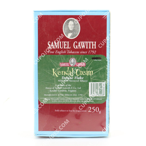 Samuel Gawith Kendal Cream Flake 250g Box