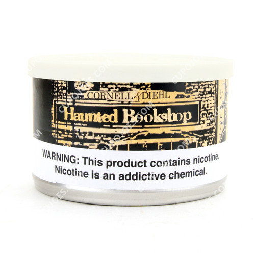 Cornell & Diehl Haunted Bookshop 2 Oz Tin